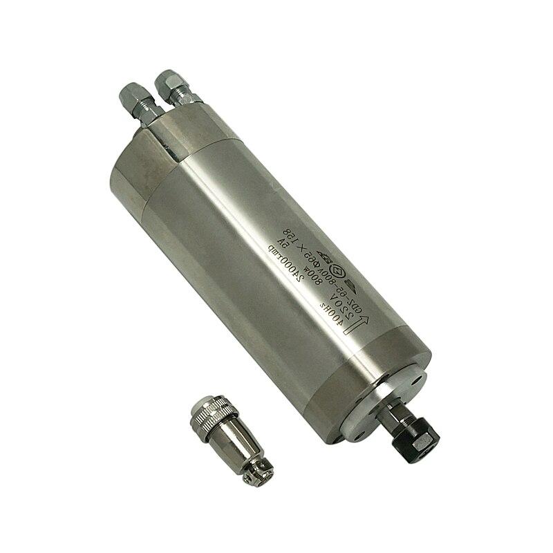 محرك CNC المغزل 800 واط 1.5KW 2.2KW 3.0KW 4.5KW 5.5KW 110V 220V 380V آلة نقش تبريد الهواء بالماء عمود المحور Z