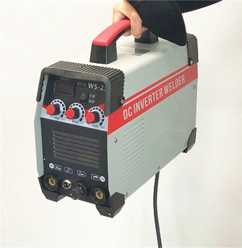 2In1 ARC/TIG IGBT العاكس قوس ألة لحام كهربائي 220V 250A MMA اللحام الطاقة أدوات