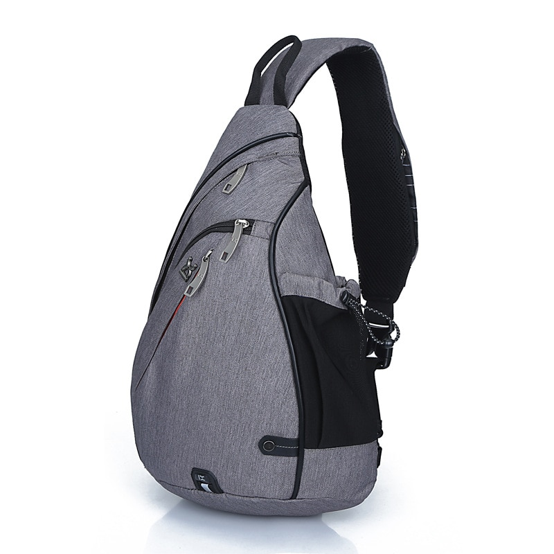 2021 new outdoor casual fashion men's bag trendy fan multi-function single shoulder messenger bag personalized men's chest bag