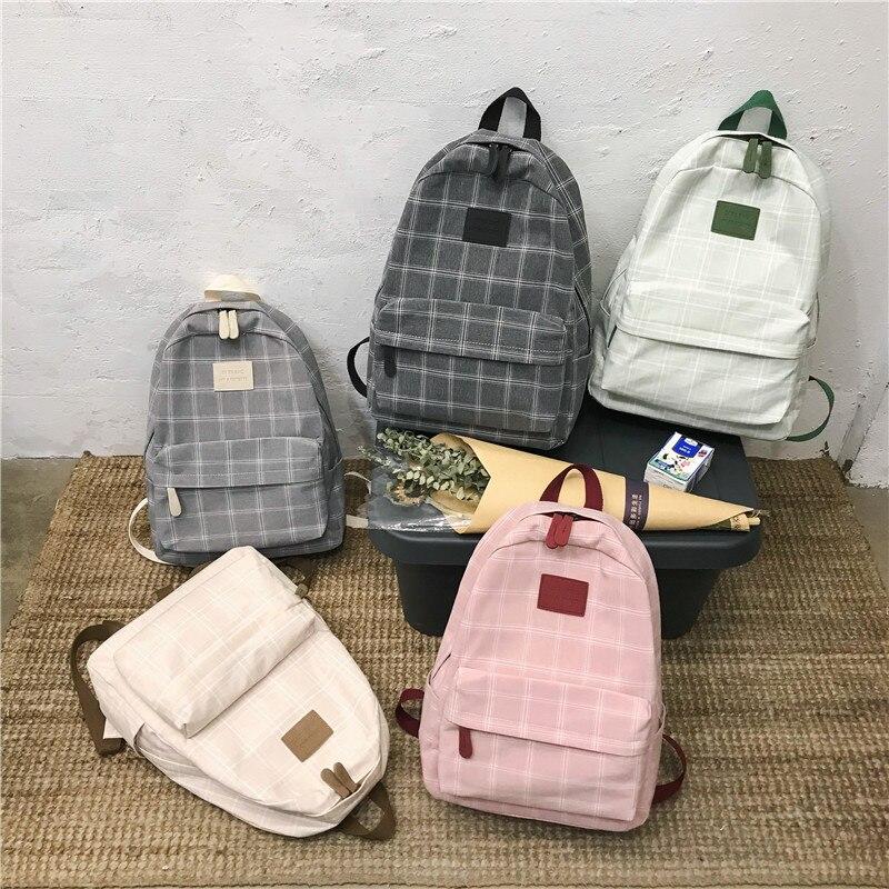 Modna djevojka koledž školska torba povremeni novi jednostavni - Ruksaci - Foto 5
