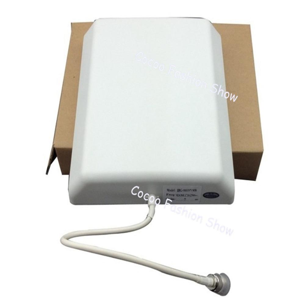 ZQTMAX-هوائي لوحة الحائط الداخلي ، مضخم إشارة الهاتف المحمول ، LTE 806 ، 8dBi 2700-2600 Mhz ، gsm 2g 3g 4g