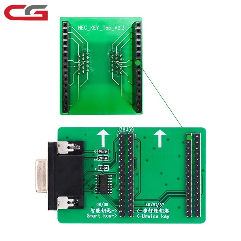Nuevo adaptador CGDI MB CGMB NEC para Benz más velocidad soporte más rápido NEC teclas borrar leer y escribir CGDI programador de llaves MB Prog