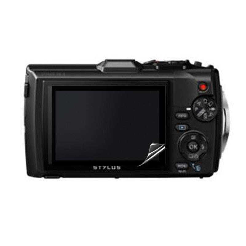 3 x Clear suave Protector de pantalla LCD tapa para Olympus Tough TG3 TG-3 TG-4 TG4 TG5 TG-5 iHS cámara de película protectora