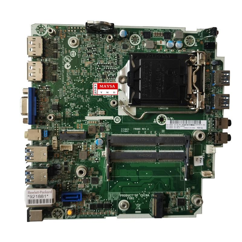عالية الجودة 746632-001 لإتش بي ProDesk 600 G1 DM سطح اللوحة 746219-001 746632-501 LGA1150 DDR3 Q87 اللوحة اختبار