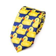 Men's Yellow Rubber Duck Tie Fashion Necktie From Hot TV Show How I Met Your Mother 8CM Width Bowtie