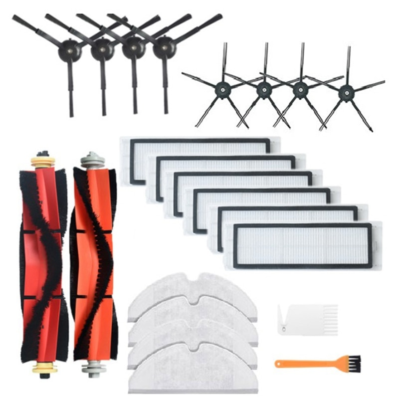 for Roborock S6 MAXV S6 PURE S5 MAX S5 S4 E4 E35 E2 Xiaomi 1/1S Robot Vacuum Cleaner All Replace Parts Accessories Kits