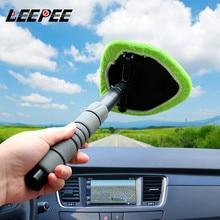Очищающий туман для окон из микрофибры, автомобильный очиститель для окон, телескопический очиститель для стекла, щетка для очистки лобового стекла автомобиля
