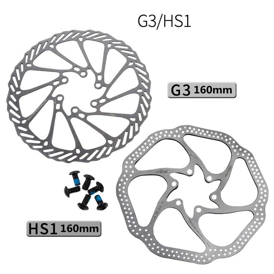 Disco de seis agujeros MTB bicicleta de montaña G3 HS1 160mm resistente...