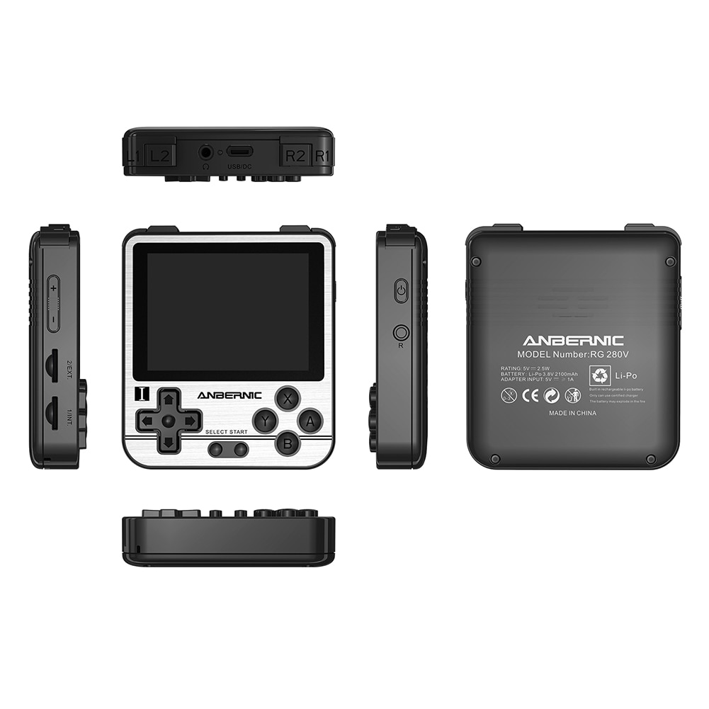 RG280V 16G/32G Retro Games Console 2.8'' IPS Screen Open Sourse Pocket Games Player Portable Mini Handheld Game Console for Gift enlarge
