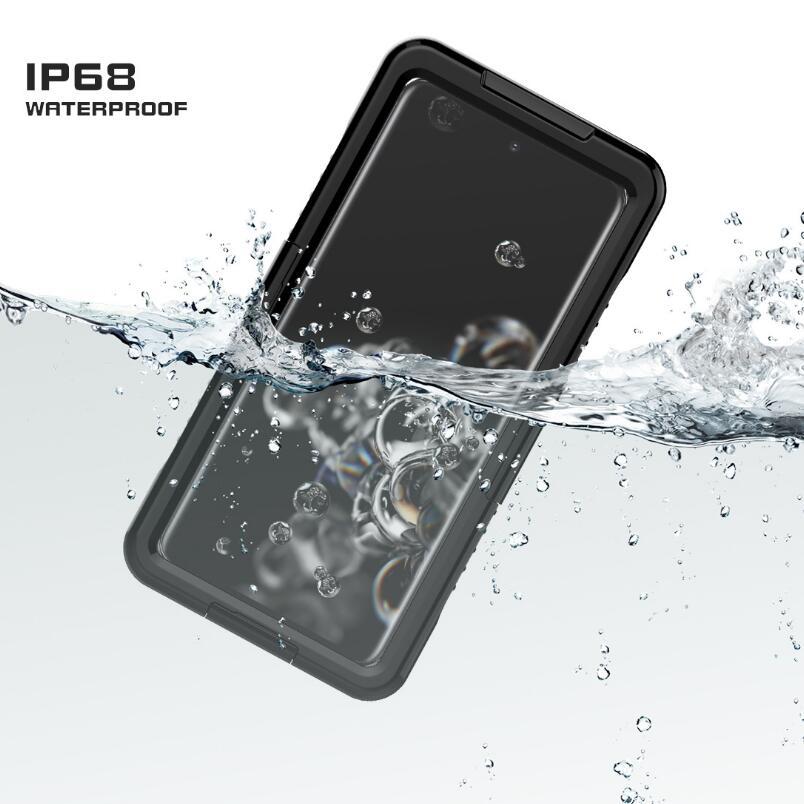 IP68 مقاوم للماء حافظة لهاتف هواوي ميت 40 + 30 20 برو P20 لايت P30 برو P40 برو مقاوم للماء حماية كاملة تحت الماء الغطاء الخلفي