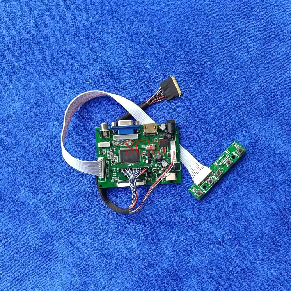 LCD مصفوفة تحكم محرك مجلس 1600*900 عدة ل B173RW01/CLAA173UA01A HDMI متوافق AV VGA WLED 60Hz دفتر 40 دبوس LVDS
