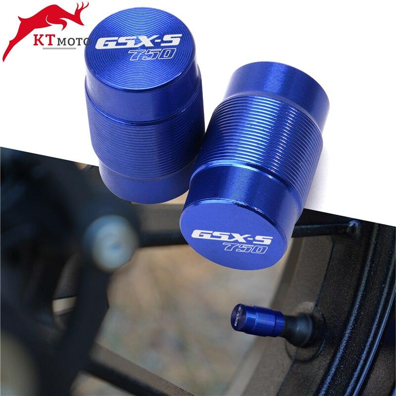 Для SUZUKI GSX-S750 GSXS 750 GSX-S1000 GSXS 1000 круглый год мотоциклы CNC колеса крышки стержня вентиля шины воздухонепроницаемые крышки