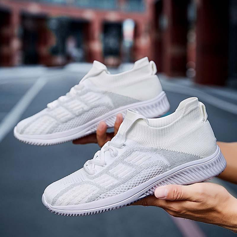 Sport Running Men Shoes Air Mesh Breathable Men Sneakers New Cushioning Casual Balck Shoes Lightweight Zapatillas De Deporte