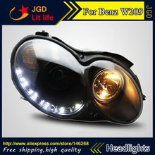 Coque de phares pour mercedes-benz W209 CLK200 CLK230 CLK280   Coque de style automobile, phares de phare, bi-xénon, feu de croisement