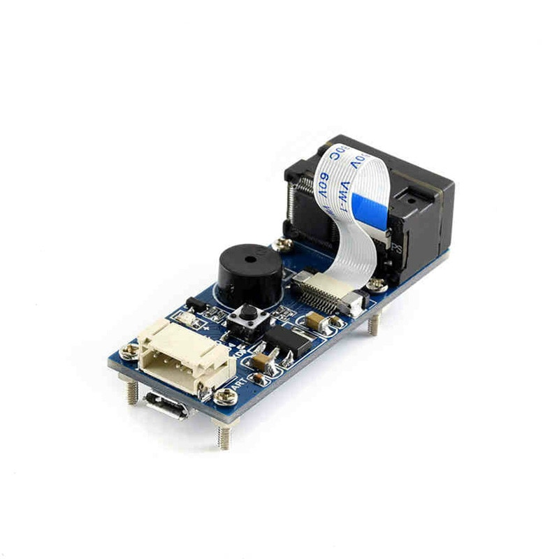 Módulo de código de escaneo Módulo de reconocimiento de código de barras código QR interfaz UART de comunicación en serie integrada
