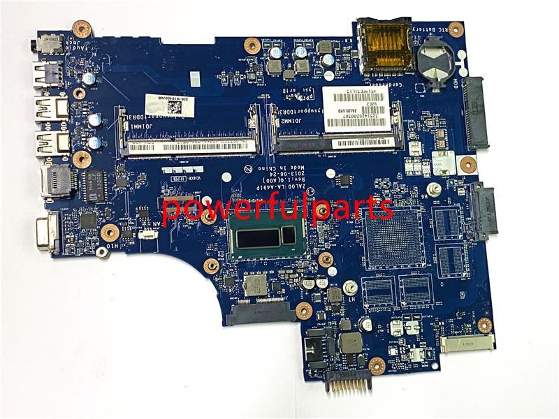 100% novo para dell portátil motherbard 3540 v3540 zal00 LA-A491P 08ttcm i3-4010U 100% totalmente testado bem