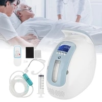 portable home oxygen concentrator generator air purifier machine homecare supplies intelligent infrared control system us plug