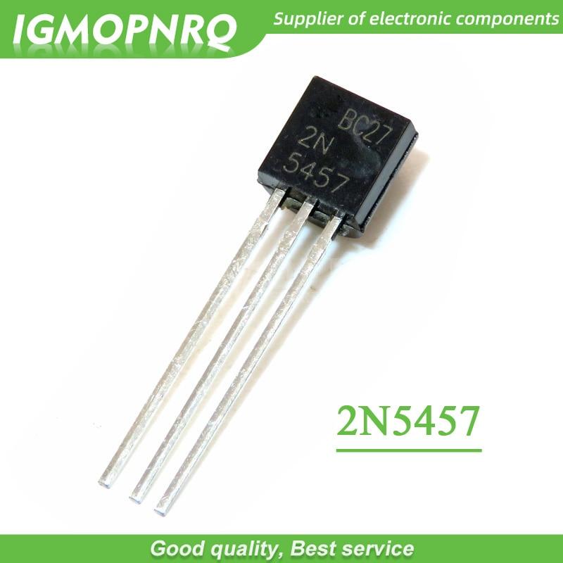 20 шт 2N5457 5457 TO-92 JFET n-канальный транзистор общего назначения Новый оригинал