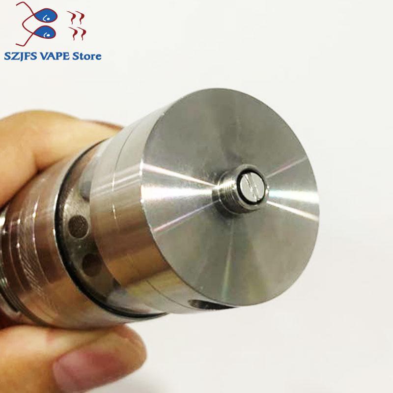 gevolution v2 rdta e-cigarette 316 SS Vaporizer 32.5mm diameter Tank 4ml Capacity Adjustable Hookah Vape Atomizer vs taifun GX enlarge