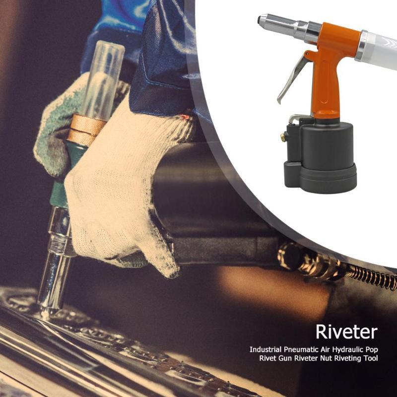 Remache hidráulico de aire neumático Industrial, remache, tuerca, herramienta de remache, herramienta de remache