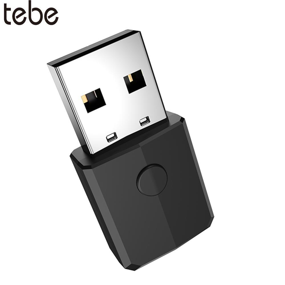Tebe Bluetooth 5,0 transmisor receptor de Audio adaptador USB inalámbrico 3,5mm AUX...