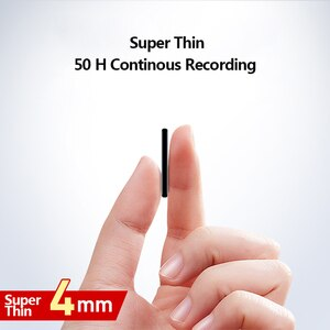Image 5 - V15 300 мА/ч, USB Флэш Накопитель SSD на 64 цифровой голосовой записи супер тонкий мини тела 50H непрерывной диктофон аудио Запись устройства