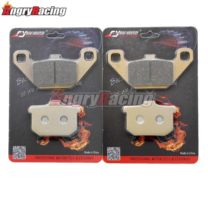 Motorcycle Front Rear Brake Pads sets For Kawasaki GPZ 250 R 550 650 ZN 700 750 900 ZL 1000 GTR 1100 VN 1500 B2-B6 C1 C2 VN15