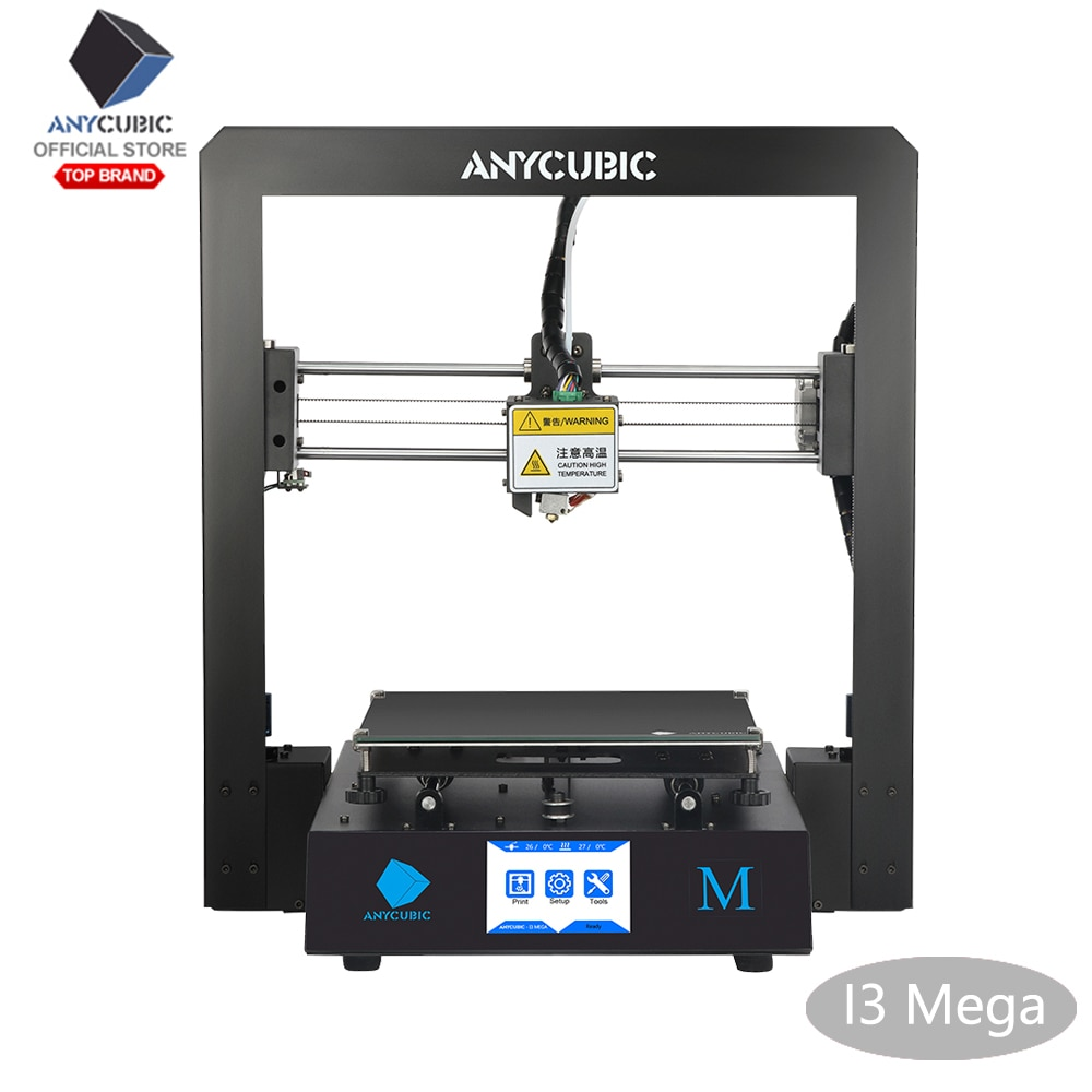 ANYCUBIC I3 Mega pantalla táctil 3D Impresora de Metal completo Impresora 3d-printer TFT de alta precisión 3D Drucker Impresora
