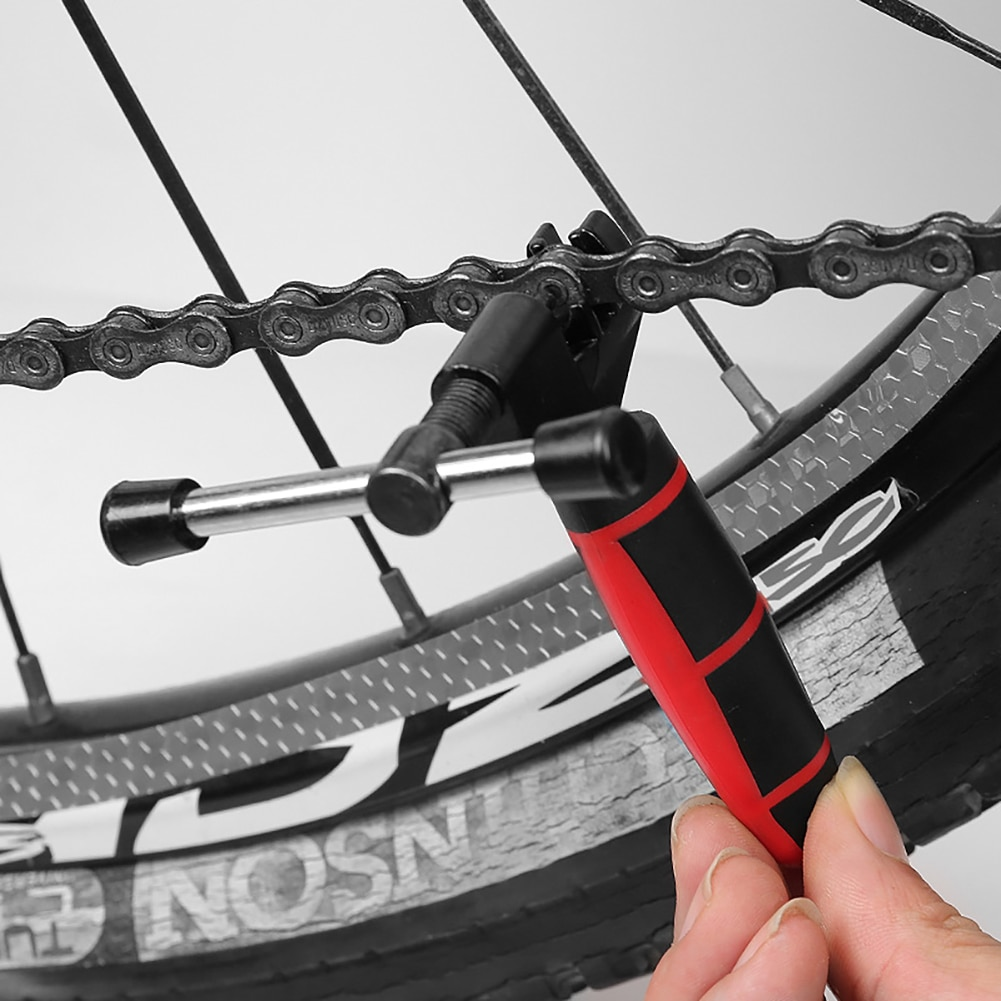 Резак велосипедной цепи Цикл цепи приспособление для удаления внутреннего стерженя ссылка автомат защити цепи велосипеда сплиттер автома...