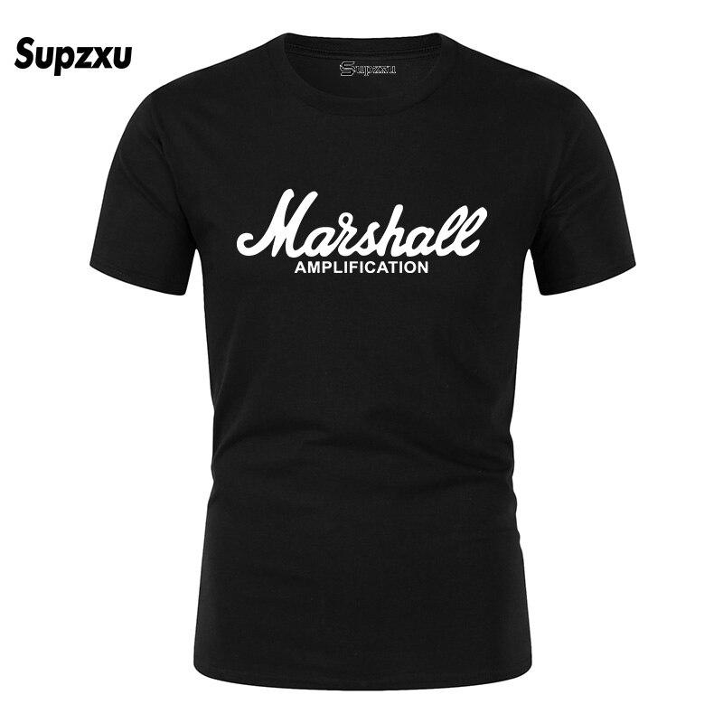 2020 nueva camiseta Marshall Logo Amps amplificación guitarra Hero Hard Rock Cafe música Muse Tops camisetas para hombres camisetas de moda