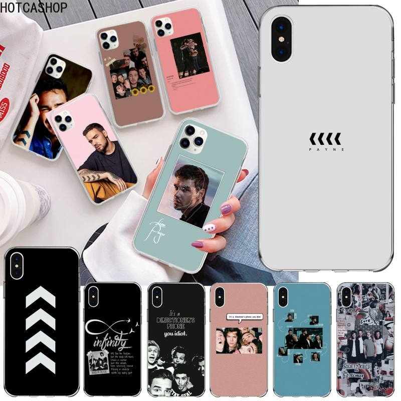 Liam Payne Phone Case for iphone 12 pro max mini 11 pro XS MAX 8 7 6 6S Plus X 5S SE 2020 XR cover