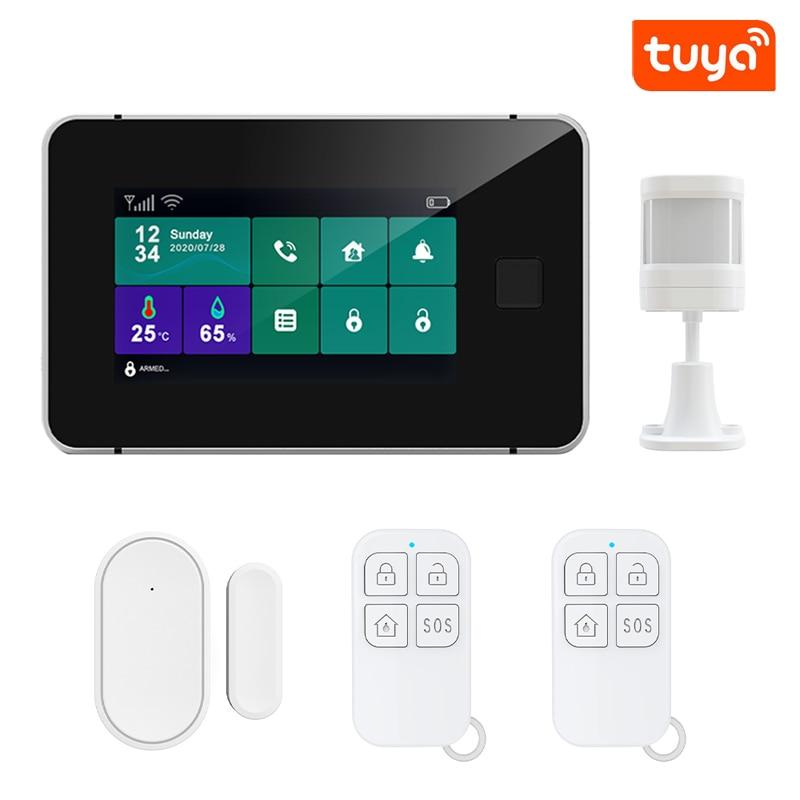 ZX-G60 Tuya Smart Wirelee Alarm System Smart Home Security