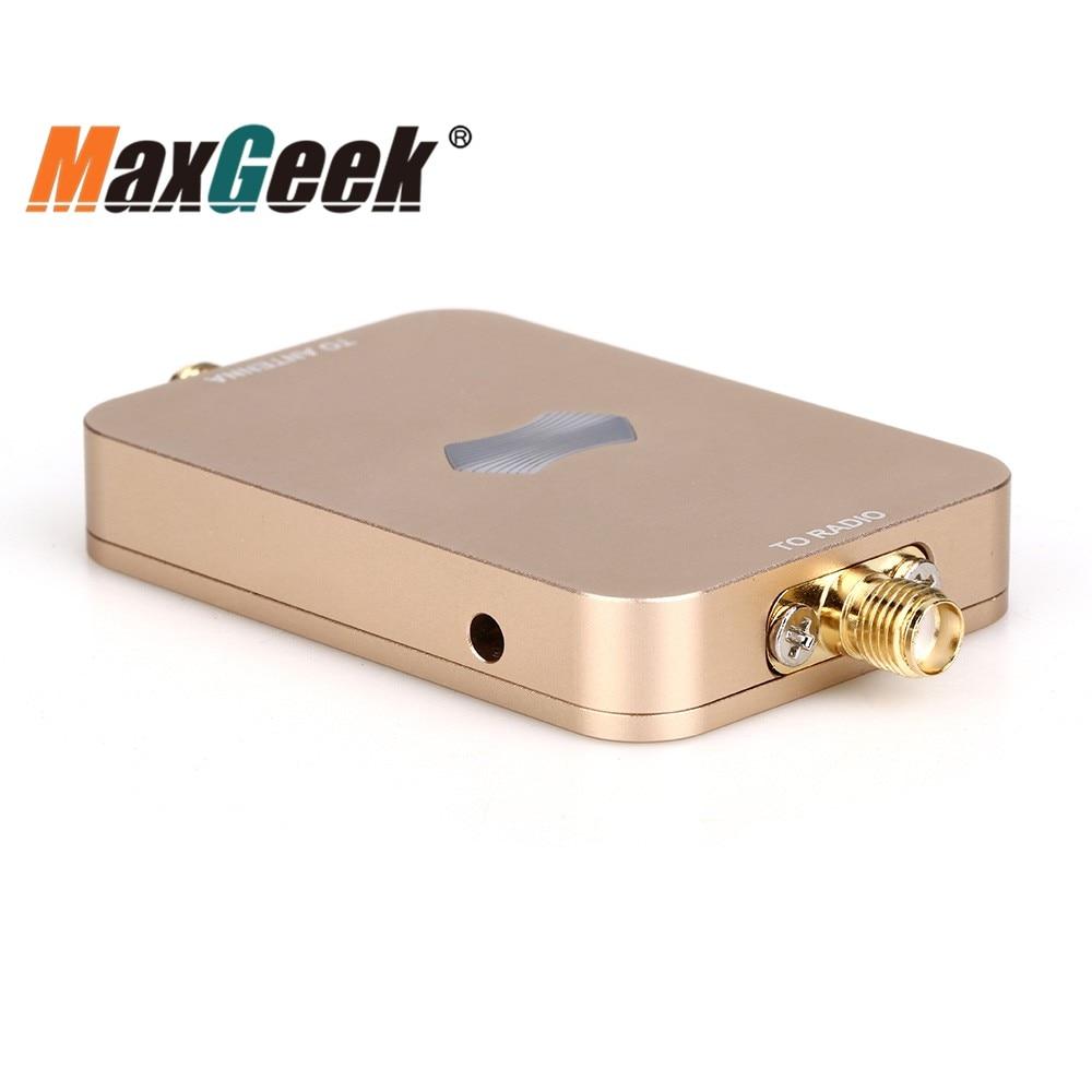 Maxgeek UAV RC amplificador de señal WiFi 2,4G 3W 35dBm SH-RC24G3W