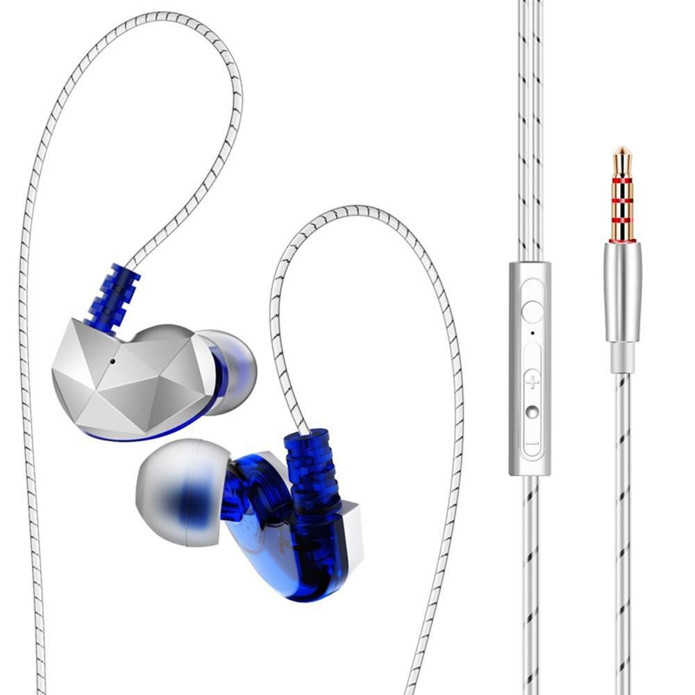 QKZ VK4 colorido DD en el oído Auriculares auriculares HIFI bajo Cancelación de ruido auriculares con micrófono Cable de auriculares reemplazados