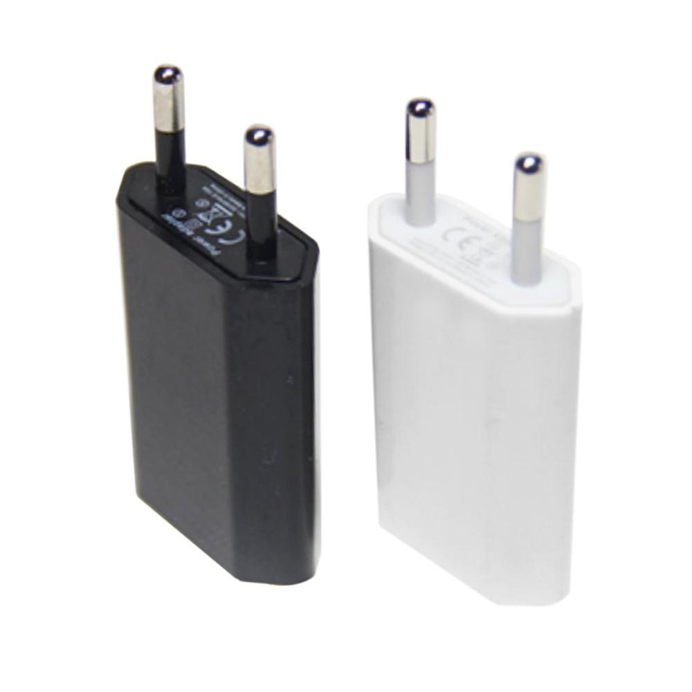 Cargador de pared USB adaptador de enchufe 5V 1A UE para Samsung iphone Xiaomi cargador de teléfono móvil cargador Universal de corriente alterna de viaje