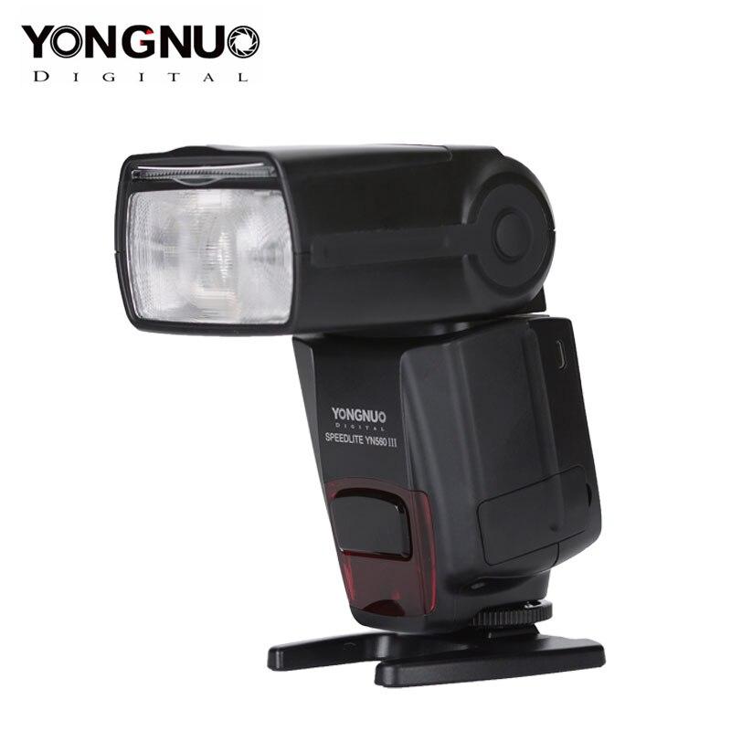 YONGNUO Speedlite YN 560 III Flash inalámbrico maestro Flash Speedlite para Canon Nikon Olympus Pentax DSLR Cámara Flash Speedlite