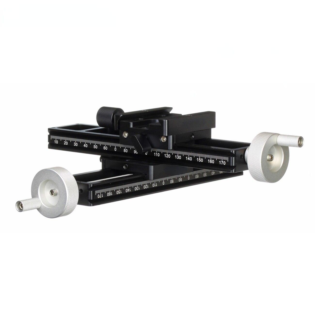 Two-Way White Bar Fine Macro-Fousing Head Camera Accessories Handwheel Rocker Macro Stacking Shooting Precision Focus