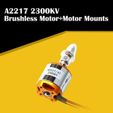 Yüksek kalite yeni A2217 2217 2300KV Motor montajı Outrunner fırçasız Motor RC sabit kanatlı uçak için çok helikopter