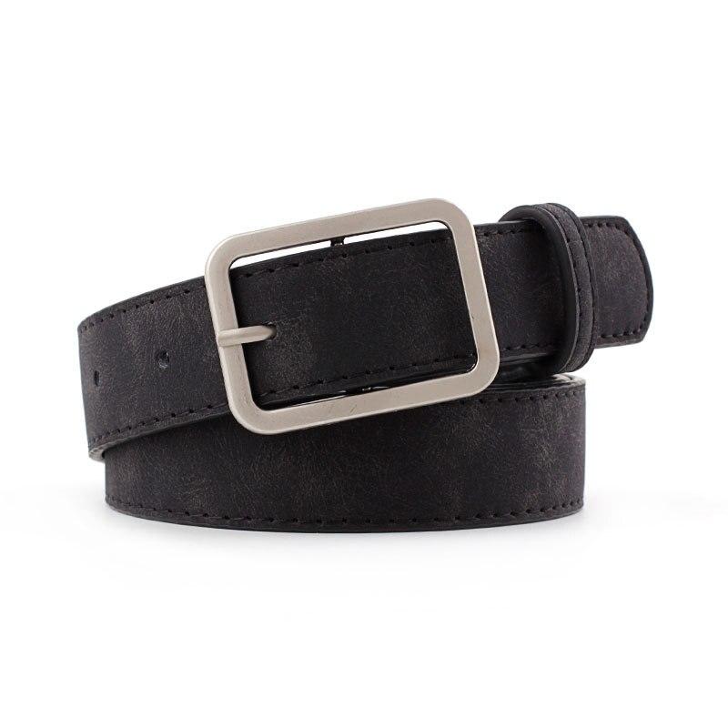 ¡Novedad de 2020! Cinturón de cintura Delgado negro marrón de diseñador para mujer, cinturón de cintura de cuero Pu para mujer, cinturón de Jeans para mujer