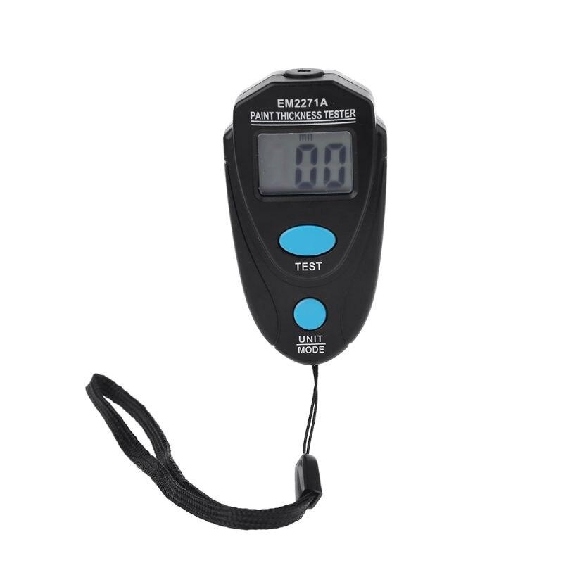 Mini LCD Digital automóvil pintura medidor de espesor probador medidor de espesor recubrimiento instrumento 0,00-2,20mm