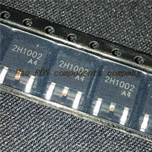 20PCS/LOT 2H1002A4 2H1002 TO-252 Constant current diode 17-40mA 100V LED power supply