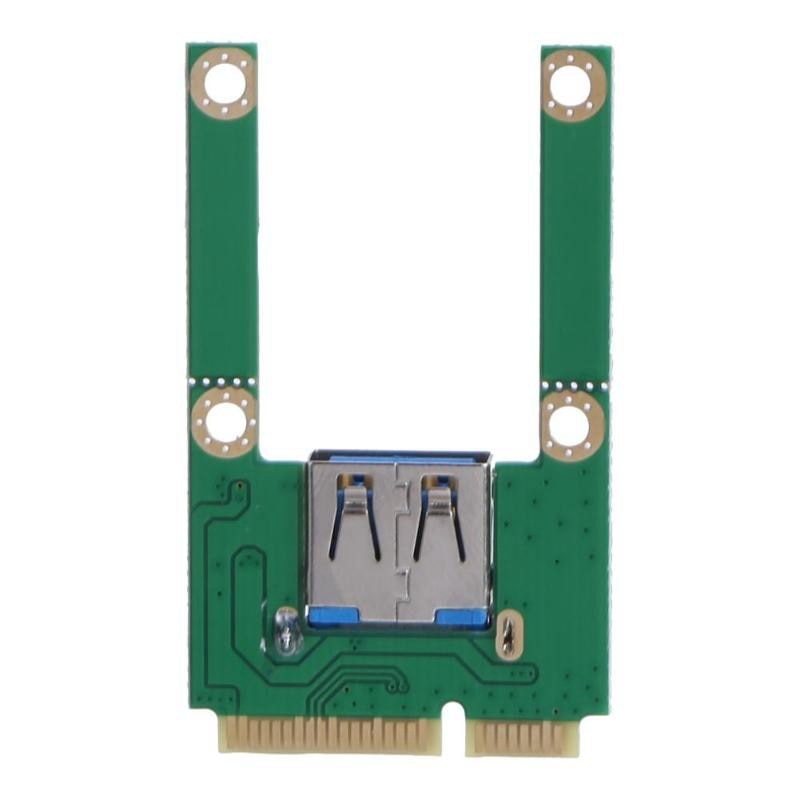 Promocja-Notebook Mini PCI-E na USB2.0 adapter pci-express karta Mini PCI-E na USB 2.0 karta rozszerzeń do notebooka USB Bluetoot