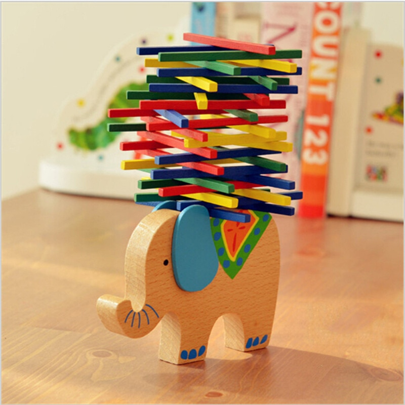manman 0 6kg wheel balance weight car tire balancing blocks adhesive balancing wheel balancing block weight Baby Toys Educational Elephant Balancing Blocks Wooden Toy Wood Balance Game Montessori Blocks Gift For Child
