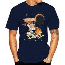 LOONEY TUNES TAZMANIAN diabeł koszulka do koszykówki mężczyzna TAZ CARTOON WARNER BROS Cartoon t shirt mężczyźni Unisex nowa modna koszulka