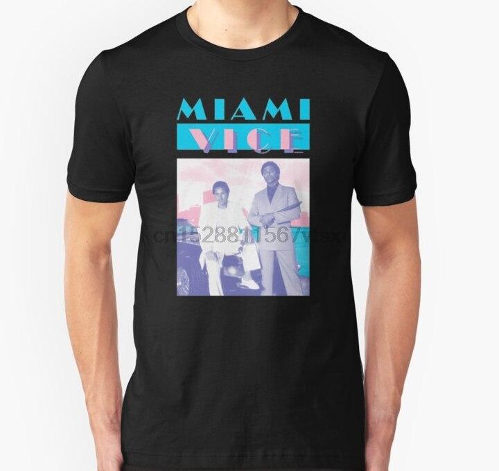 Camiseta Unisex de Miami Vice para hombre (1) Camisetas estampadas
