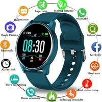 LIGE New Smart Watch Men Women Heart Rate Blood Pressure Sport Multifunction Suitable For IPhone IP67 Waterproof Smartwatch+Box