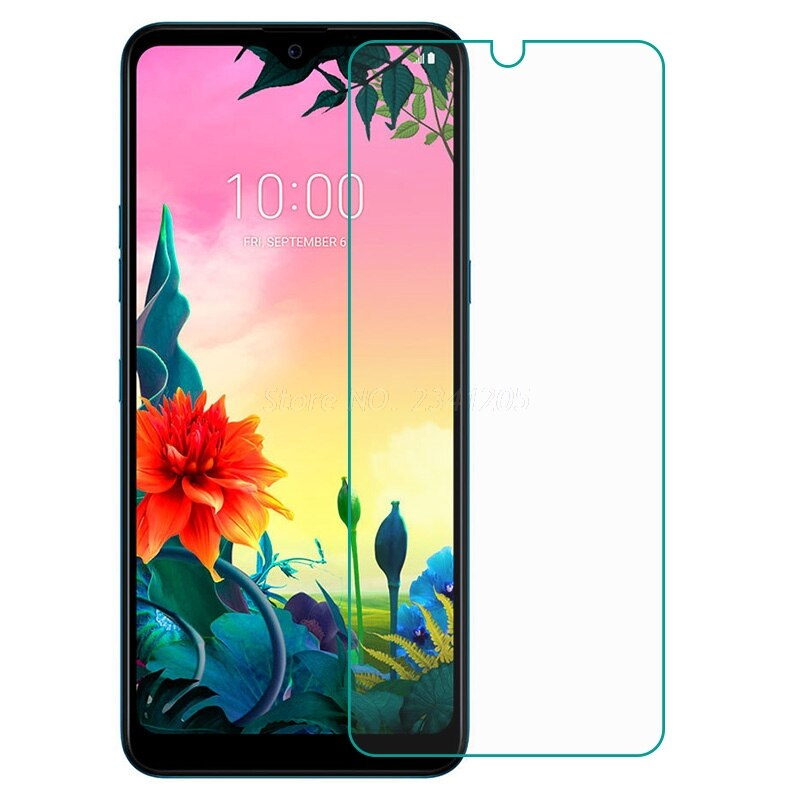 Vidro temperado para lg k50s k50 k40s k30 k20 x2 2019 protetor de tela de vidro protetor de proteção para lg k50s lmx540emw LM-X540 filme do telefone