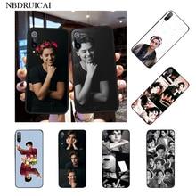 NBDRUICAI TV americana Riverdale serie Cole Sprouse DIY funda de teléfono para Xiaomi 8 9 se 5X Redmi 6pro 6A 4X 7 5plus Nota 5 7 6pro