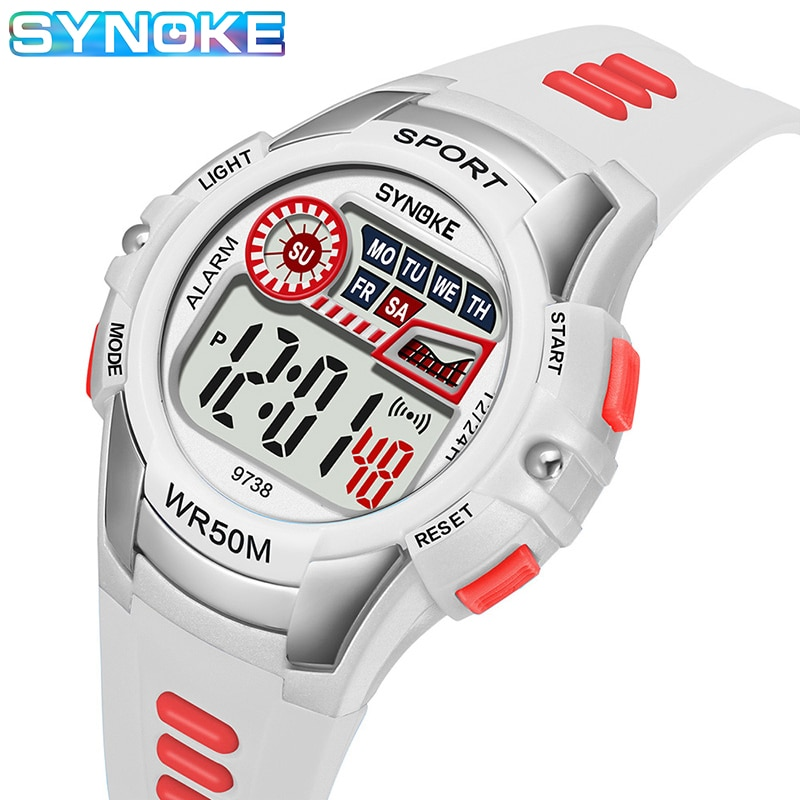 ohsen brand mens boys digital sports watches waterproof rubber band wristwatch led colorful backlight red army kids watch gift Hot Sale 2020 Waterproof Children Watch Silicone Rubber Watch Kids Casual Wristwatch Boys Girls LED Digital Sports Watches Gift