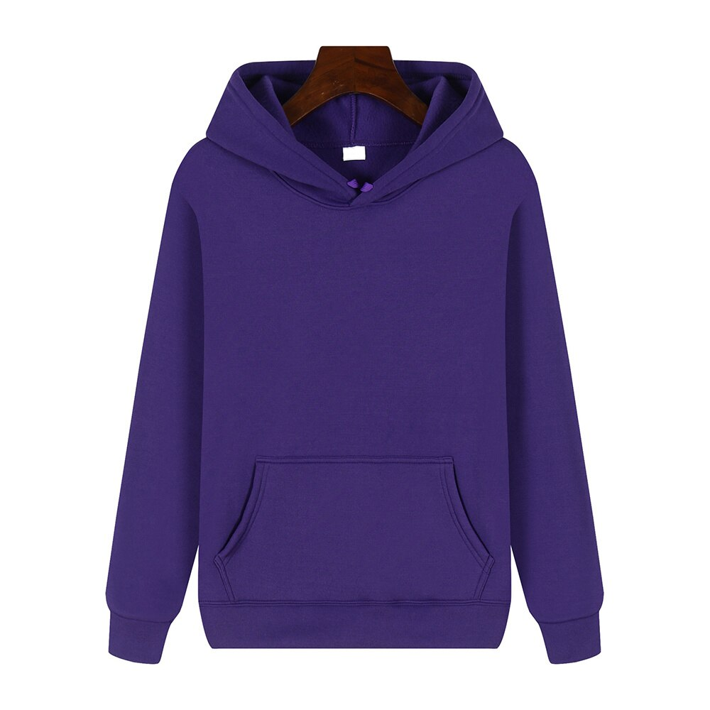 Hot Sale Men Women Hoodies Solid Color Print Daily Streetwear Hoodie Long Sleeve Sweatshirts Fashion Oversized Coat Tops Clothes autumn winter solid color fashion print hoodies women plus size long sleeve slim streetwear pocket hoodie tops
